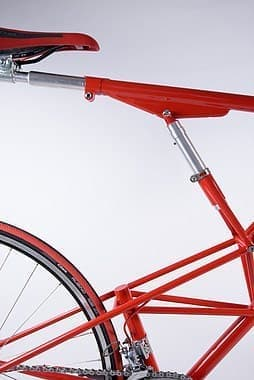 """コンセプトは、""""自分にあったサイズに、調整できる自転車"""""""