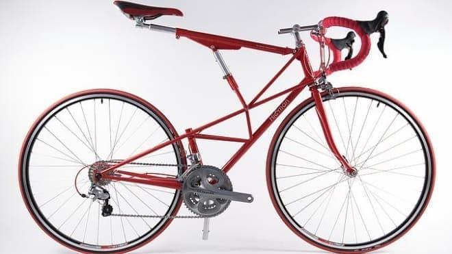 望遠鏡みたいなシートポスト&シートチューブが特徴の自転車「Hickman Bikes」