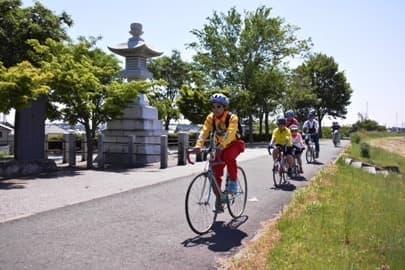 「利根・渡良瀬サイクリングコース」  (画像は茨城県堺町の公式Webサイトから)