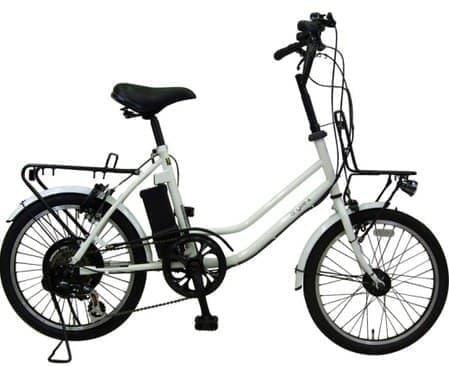 参考画像: 「防災する自転車」(チャイルドシートを装着しないタイプ)