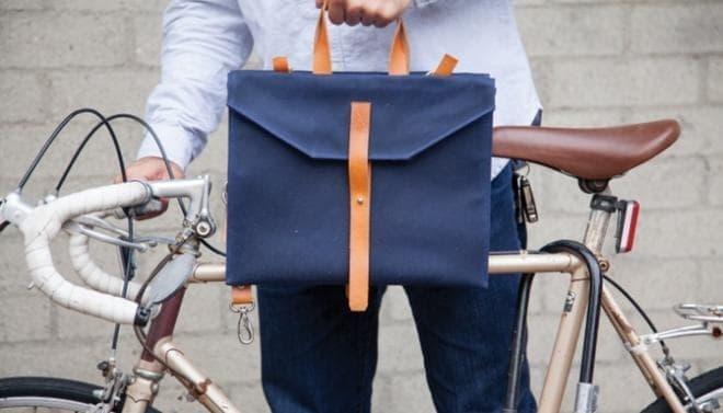 自転車通勤をするビジネスマン向けにデザインされたバッグ 「JAAR LA001」