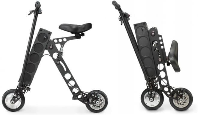折り畳み電動バイク「URB-E」