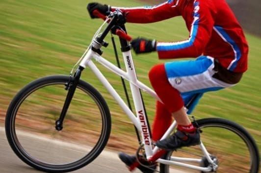 参考画像:手でも漕げる自転車「Varibike」