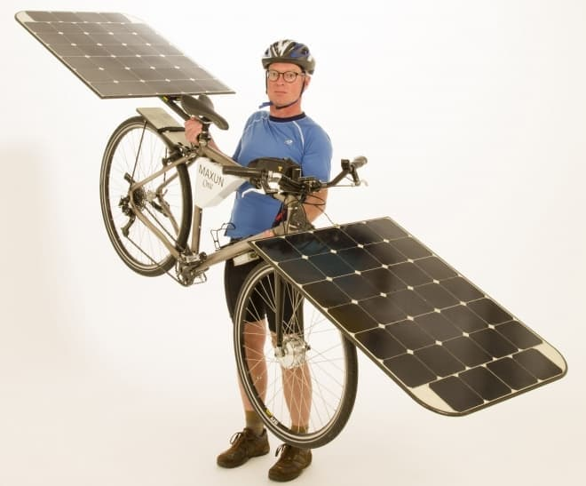 「Maxun One」の重さは17キロと、電動アシストとしては軽量