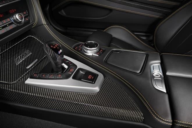 BMW M6 セレブレーション・エディション・コンペティション センターコンソール
