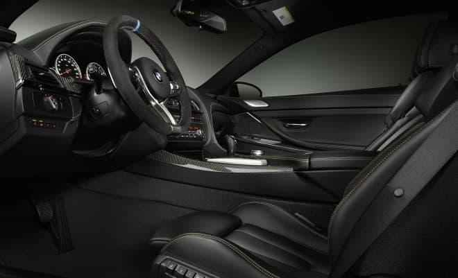 BMW M6 セレブレーション・エディション・コンペティションのインテリア