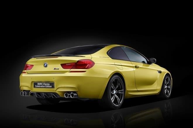 BMW M6 セレブレーション・エディション・コンペティション リアビュー