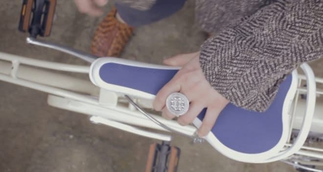 自転車用サドル「Ta+Too」