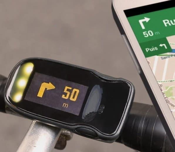 自転車用スマートフォンUI「HAIKU」
