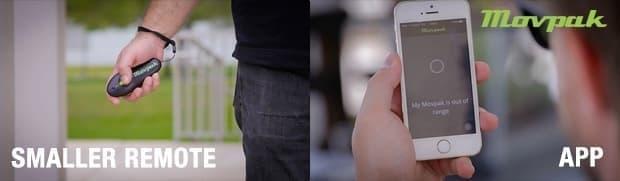 スマートフォンからもコントロール可能になった