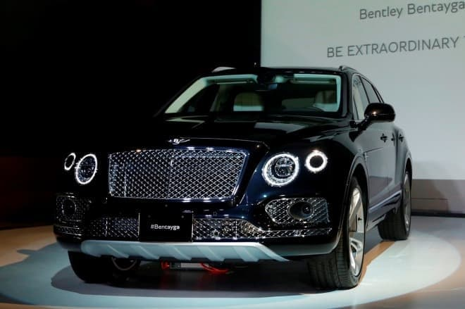ベントレー 初となる新型SUVモデル 「ベンテイガ(Bentayga)」