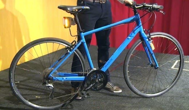 「OpenBike」が実装されたMARIN BIKESの自転車(プロトタイプ)