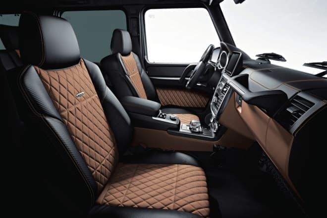 Mercedes-AMG G 63 Edition 463 インテリア designoライトブラウン/ブラック