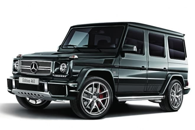 Mercedes-AMG G 65 Edition 463 designoグラファイト (メタリックペイント)