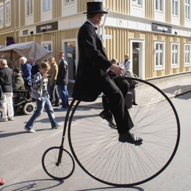 レトロ自転車ペニー・ファージング