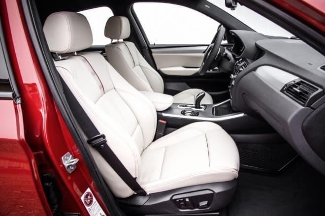 BMW X4 インテリア