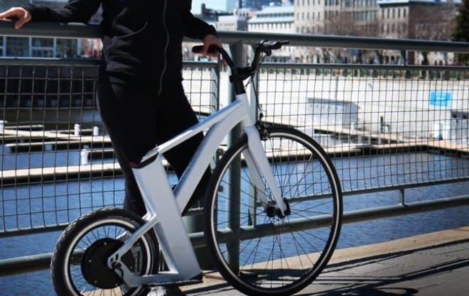 レトロ自転車を電動バイクとして再現した「SnikkyBike」