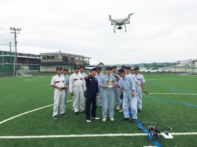 「日本航空学園 ドローンパイロットスクール