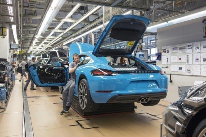 ポルシェ 718ケイマン ツッフェンハウゼンで生産を開始