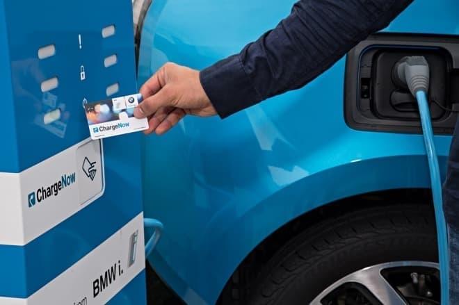BMW 公共充電サービス「ChargeNow(チャージナウ)」