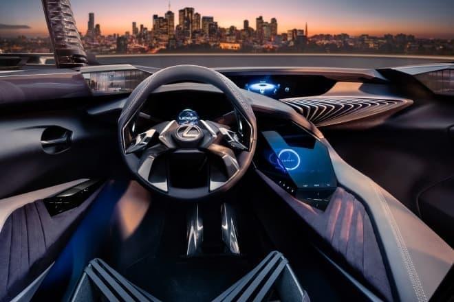 レクサス コンセプトカー「UX Concept」 内装を一部公開
