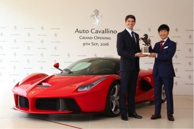 フェラーリ正規ディーラー Auto Cavallino(オートカヴァリーノ) 神戸にオープン