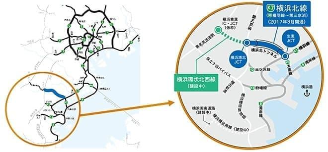 「高速神奈川7号横浜北線(横羽線~第三京浜)」開通