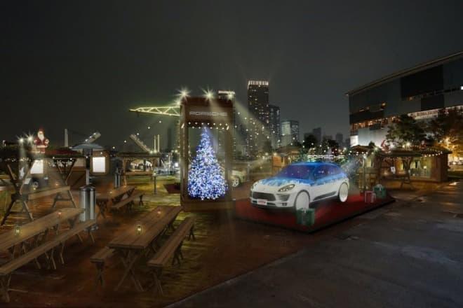 「Porsche Christmas Market(ポルシェ クリスマス マーケット)」 ららぽーと豊洲のシーサイドデッキで開催