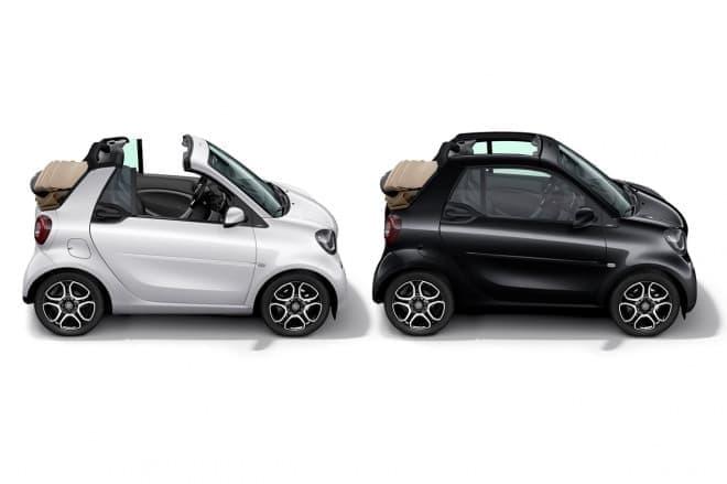 メルセデス・ベンツ 「smart cabrio macchiato」「smart cabrio espresso」