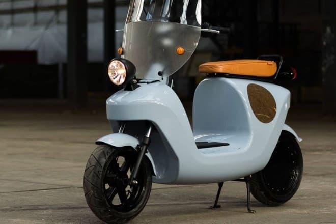電動でエコ、ボディはもっとエコな電動バイク「Be.e」