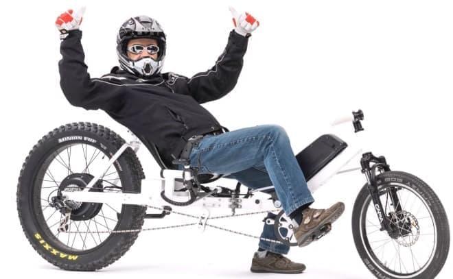 ジョイスティックで操る自転車「Joystickbike」