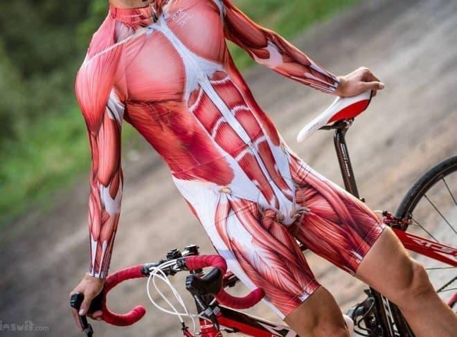 筋肉すっけすけな「Muscle Cycling Kit(筋肉サイクリングキット)」-