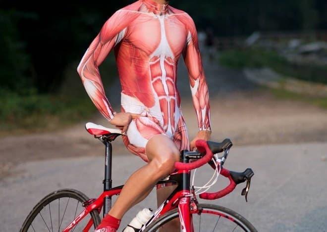 筋肉すっけすけな「Muscle Cycling Kit(筋肉サイクリングキット)」
