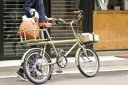 20インチサイズカーゴバイク「colot(コロット)」