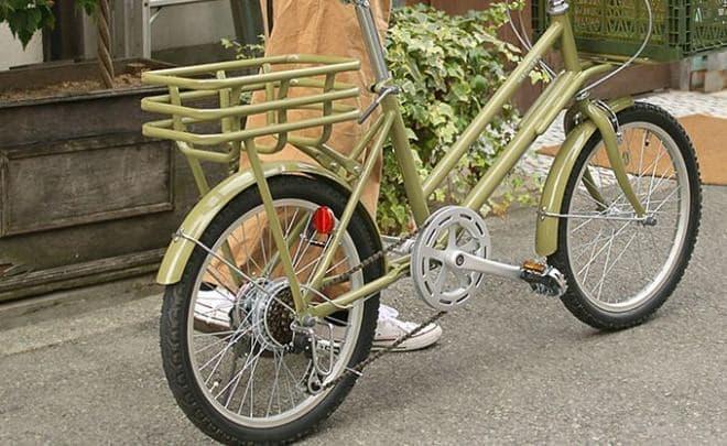 お仕事用ではなく、街乗り用のカーゴバイクWachsen「ROKE(ローク)」