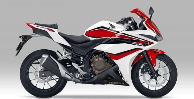 ホンダ「CBR400R」、カラーリング変更&ABS標準装備