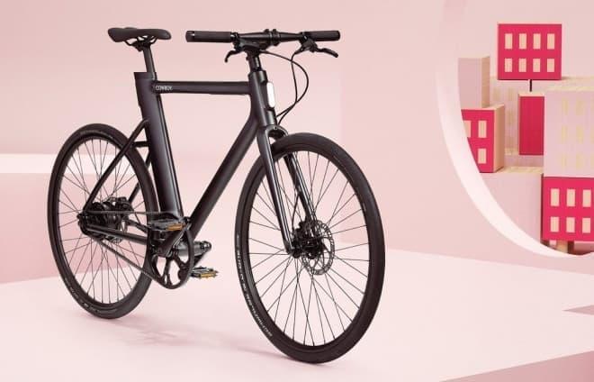 電動アシストに見えない電動アシスト自転車COWBOY