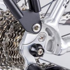 サドル盗難を防ぐ自転車用のボルトロック「HEXLOX(ヘックスロックス)」、
