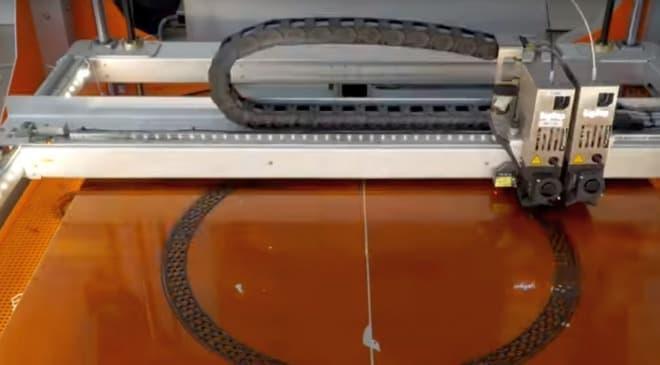 BigRepが3Dプリンターで製造したパンクしない自転車用タイヤ