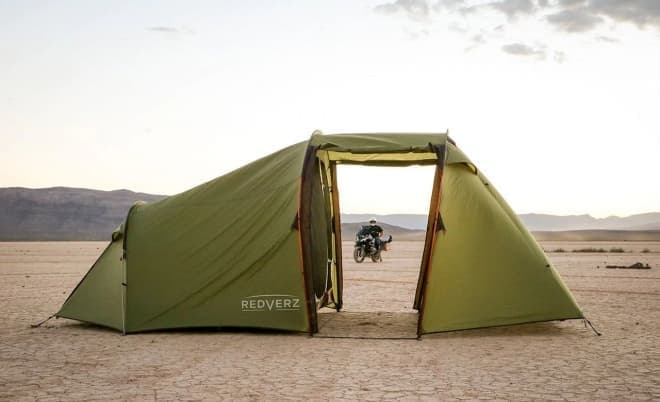 バイクライダー用テント「Atacama(アタカマ)」