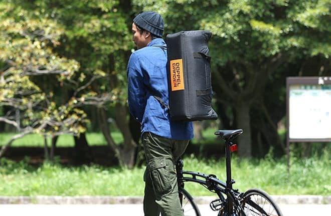 ミニベロを大事に運べる「耐衝撃輪行キャリングバッグ ミニ」