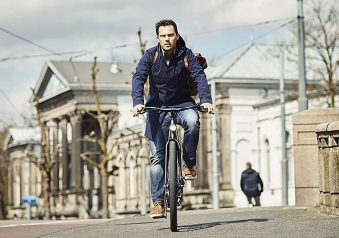 オランダの自転車ブランドVanMoof Electrifiedシリーズのブーストボタン