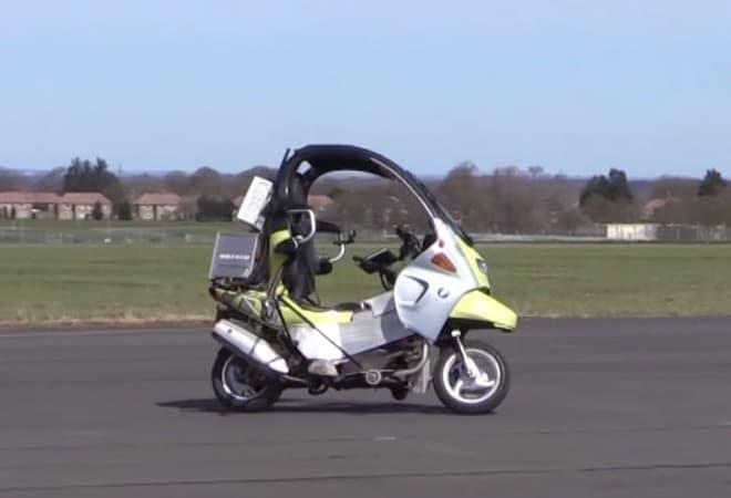 AB Dynamicsがスクーターの無人運転映像を公開
