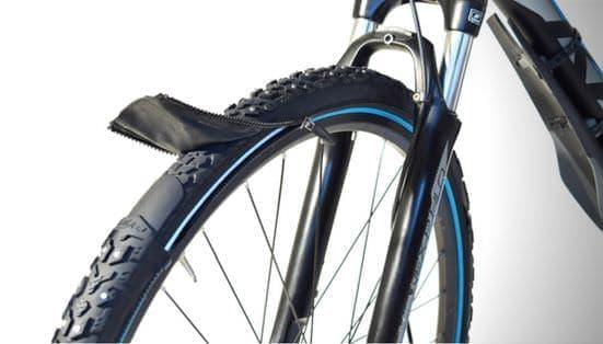 ファスナーで取り付け/取り外しできる自転車用タイヤ「reTyre(リタイヤ)」