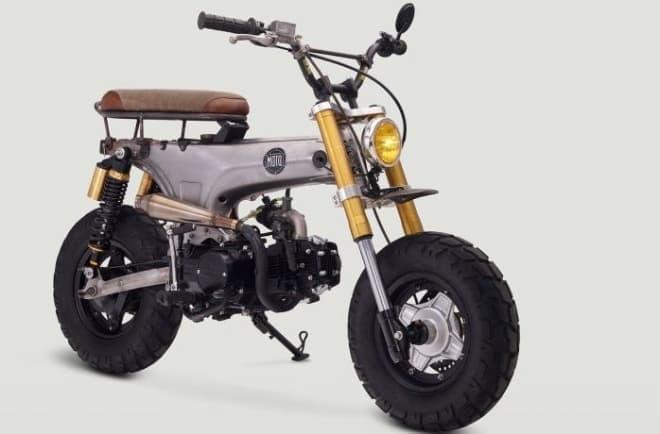 ホンダCT70をベースにしたカスタムバイク「Junior」