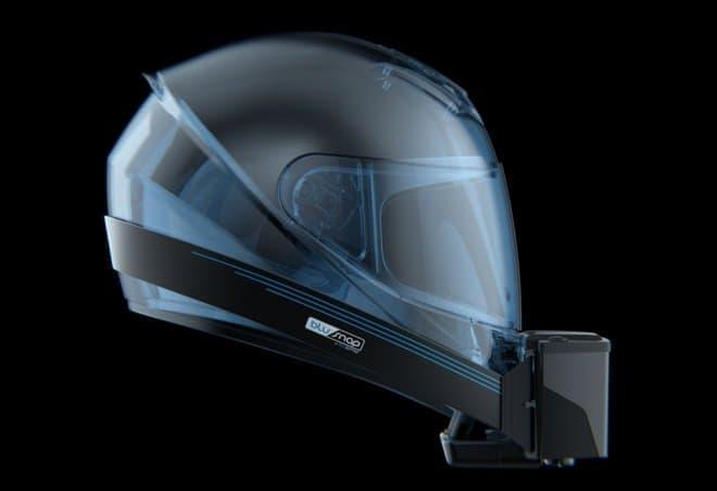 バイクライダーの頭部を冷やす、バイクヘルメット用のBluarmor「BluSnap」