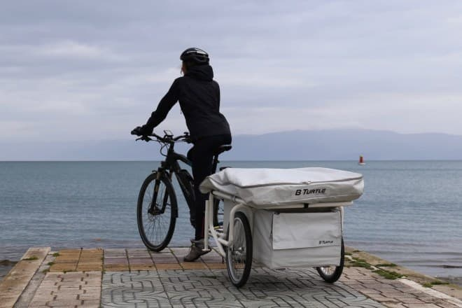 自転車用キャンピングカー「B-Turtle」