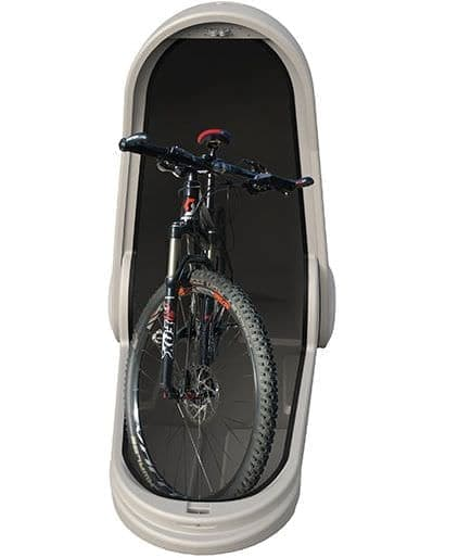 カプセル型の自転車用カバー、ALPEN「BIKE CAPSULE」
