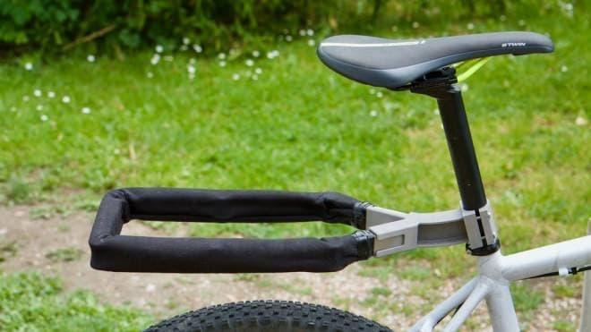 自転車用ロックであり、リアキャリアでもある「NEXIBI」