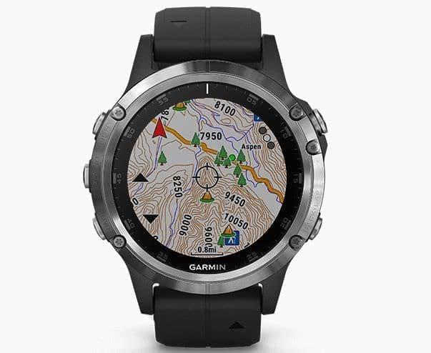 Garmin、音楽、決済、地図機能を搭載したGPSウォッチ「fenix 5 Plus Series」